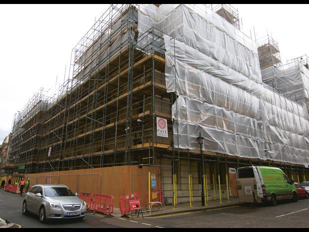 Law society building work